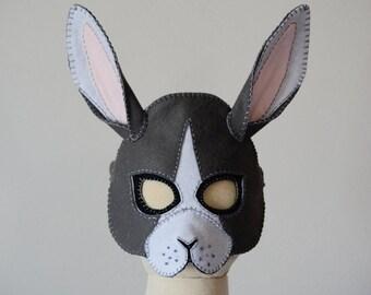 Rabbit Mask PDF Pattern