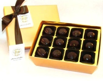 Creek House Organic Vegan Chocolate Truffles Nouveau Collection, 3 Sizes, Free Shipping