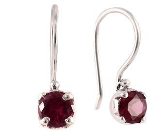 Cubic zironcia silver earring