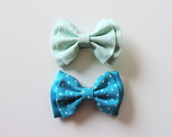 set of 2 clips clip bows