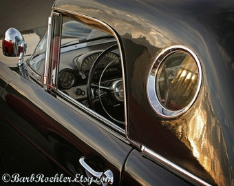 Thunderbird Sunset - 1955 Thunderbird - Retro Print - Vintage Car Photography - Garage Art - Fathers Day - Office Decor - 8x10