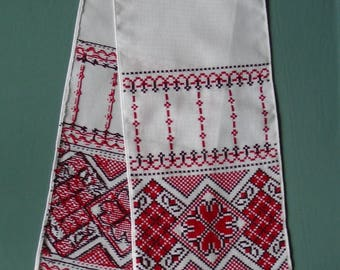 Ukrainian Hand Embroidered Towel, Rushnyk, Ukraine,