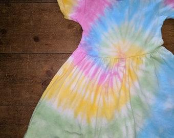 Rainbow Swirl Dress