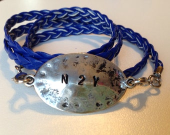 """Never Too Young """"N2Y"""" Wrap Bracelet"""