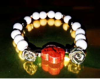 Louis White Cupid bracelet