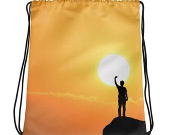 Freedom at sunset, Drawstring bag
