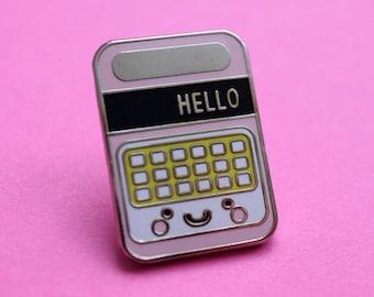 Speak and Spell Retro Toy Cute Kawaii Enamel Pin Badge - Tie Pin - Lapel Pin - Flair - Brooch