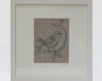 Original Artwork 'Bird Watcher'