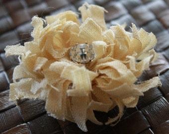 DIY No1- PDF Tutorial Make Your Own Fabric Flowers - Chrysanthemum