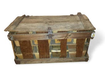 Antique Berry Basket with Berry Boxes