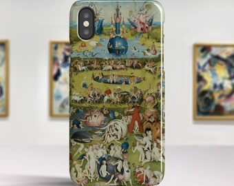 """iPhone X case Hieronymus Bosch """"The Garden of Earthly Delights"""" iPhone 8 Plus case iPhone 7 case Phone case for iPhone X 8 7 6. PC-HBO-02"""