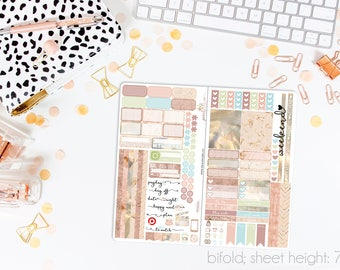 Dawn TN STANDARD Weekly Kit // 120+ Matte Planner Stickers // Perfect for your Standard Size Traveler's Notebook // TNS0750