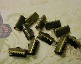 30 caps claws bronze Ribbon 13 mm