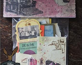 TiffanyJane-VintageLadiesGatheredGoods-EphemeraPapier Set-Home Decor-Mixed media-Art-Vintage Style Keepsakes-Paper goods