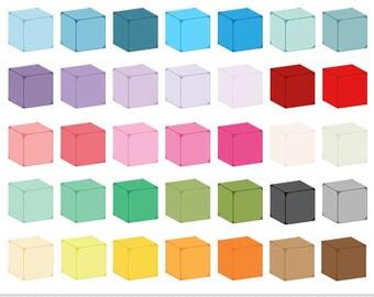 Cube Clipart Rainbow Cube Clip Art Blank Dice Clipart Colorful Cubes 3D Dice Clip Art Board Game Dice Colorful Dice Pastel Cubes Clipart