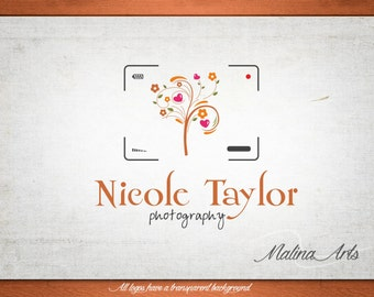 Photography Logo and Premade Logo and Watermark BUY 2 and GET 1 FREE!!!