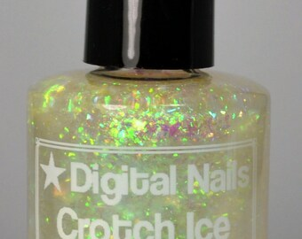 Crotch Ice, inspired by accidentally hitting your love interest in the crotch with an umbrella, by Digital Nails