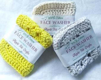 Crochet Wash Cloth Face Washer