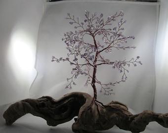 Amethyst wire tree