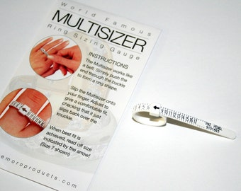 Plastic Ring Sizers- Package of 10