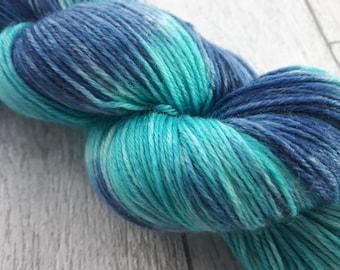 Ocean Colour Scene - Merino Cashmere Nylon (MCN) sock 4ply