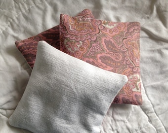 Perfect Paisley! Trio of lavender bags/sachets/pillows/cushions.