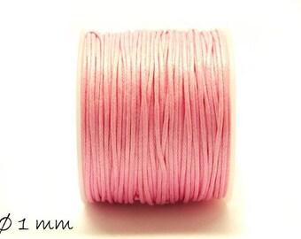 Designed, cotton string, pink, Ø 1 mm