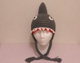 Baby Shark Hat, Costume Hat, Beanie Shark Hat, Toddler Hat,  Made to Order Hats & Caps, Photo Props