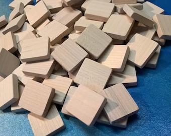 Blank Scrabble Tiles (lot of 20) Unmarked