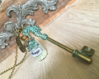 Frost Mage Cosplay Necklace inspired by World of Warcraft.