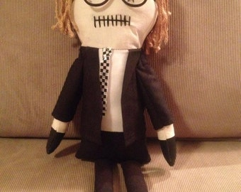 """Johnny - Inspired by George A Romero's """"Night of the Living Dead"""" - Creepy n Cute Zombie Doll (D)"""