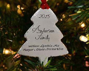 Christmas Ornaments - Handmade Christmas Ornaments - Personalized Christmas Tree Ornaments -