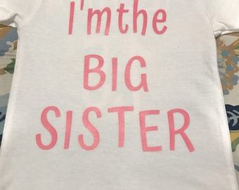 Custom Big Brother/Sister Shirt
