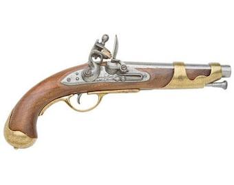 French Cavalry Flintlock Pistol