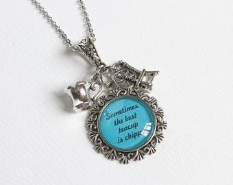 Rumbelle Necklace (OUAT)