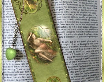 "Laminated bookmarks ""Green Dream"""