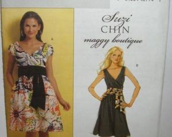 Womens/Misses Suzi Chen Dresses & Sash Sewing Pattern/Butterick B5319 Size 8-14
