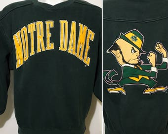 Vintage Notre Dame Sweatshirt M