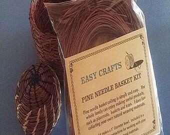 Pine Needle Basket Kit