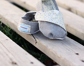 PATTERN: TOMS-Inspired Toddler Shoes - PDF Pattern (Now Instant Download!)