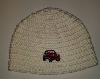 Jeep Beanie *Customize your hat color*