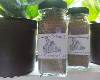 Organic Cleansing Grains - For face and body