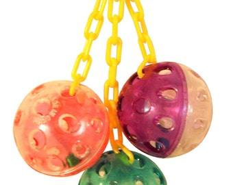 1467 Ball Clanger Bird Toy