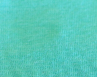 KNIT Fabric: Solid Mint Cotton Lycra knit