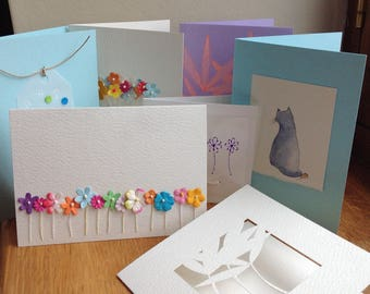 Greeting Card Selection.