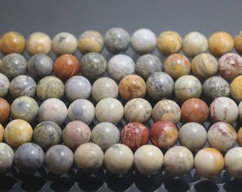 Natural Sky Eye Jasper Beads, Natural and Smooth Round Beads,6mm 8mm 10mm Beads,15 inches per strand