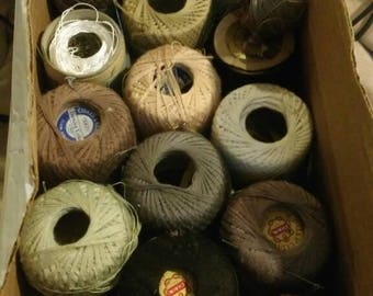 Vintage threads for your crafts