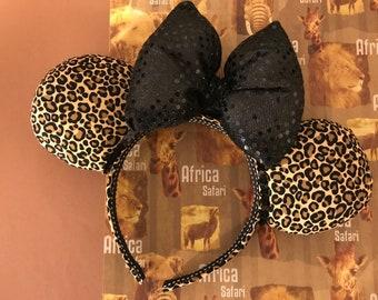 Animal Kingdom Cheetah Minnie Mouse Ears