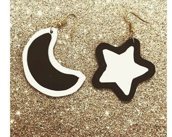 Moons and stars