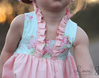 Little Girls Dresses, Flower Girl Dress, Baby Girl Dress, Toddler Easter Dress, Easter Dress Girls, Girls Spring Dress, Newborn Easter Dress